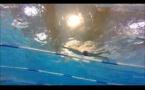 Séance natation en video