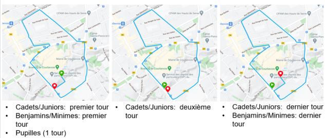 Plan Parcours Vélo