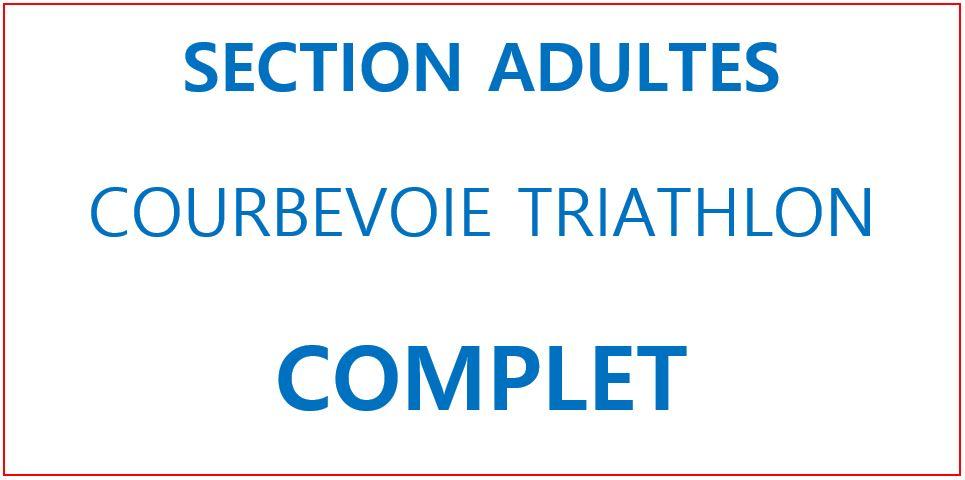 Inscription Adultes