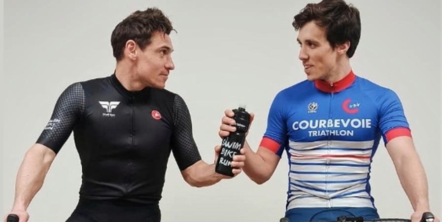 Courbevoie Triathlon mouille le maillot contre le COVID 19